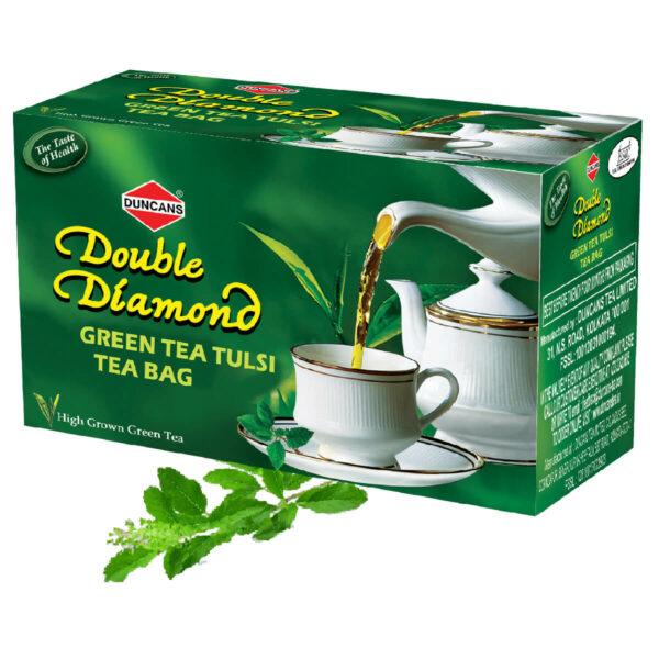 tulsi green tea, green tea